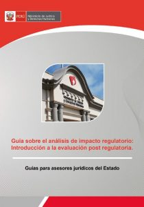 Guia analisis impacto regulatorio